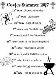Covies Summer Programme 2017